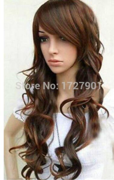 New Sexy Long Curly Natural Brown Made Hair Wig Theatrical Wigs Braided  Lace Wigs From Dingyingying8889 b8d76df3c234