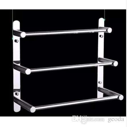 Moderne 304 Edelstahl-Handtuch-Leiter-moderne  Handtuchhalter-Badezimmer-Produkte an der Wand befestigte  Badezimmer-Zusätze 38/48/58