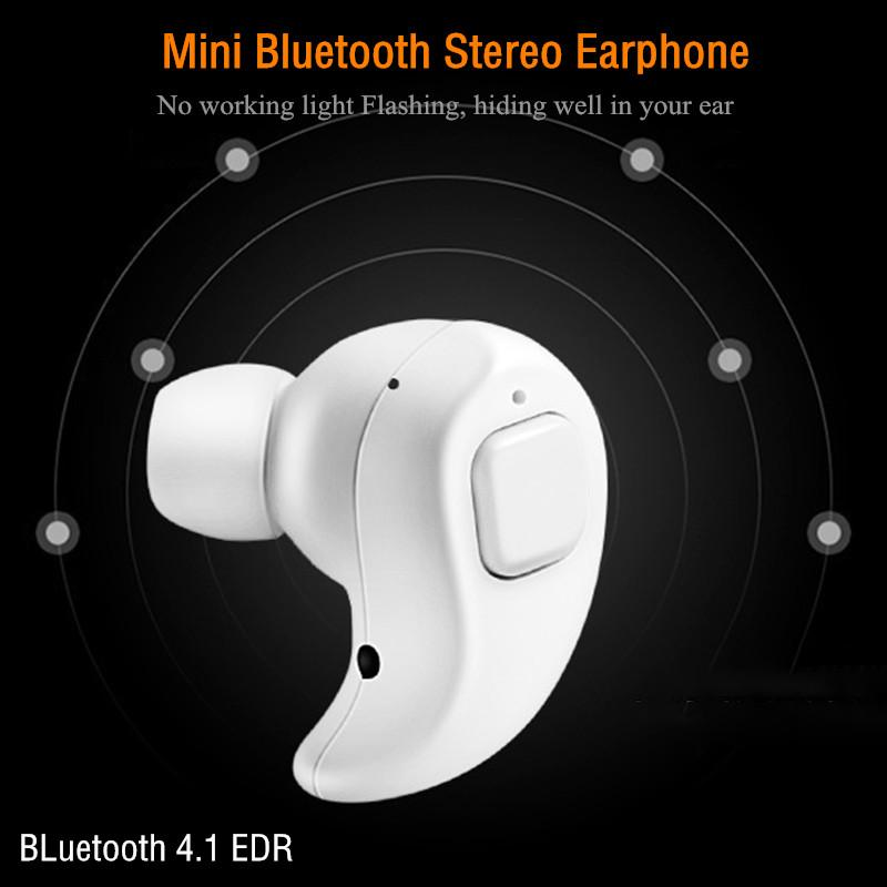 Mini Invisible Wireless Headphone Bluetooth Earphone Earbuds With Mic  Bluetooth Headset MP3 Stereo Sound Handfree Car Kit