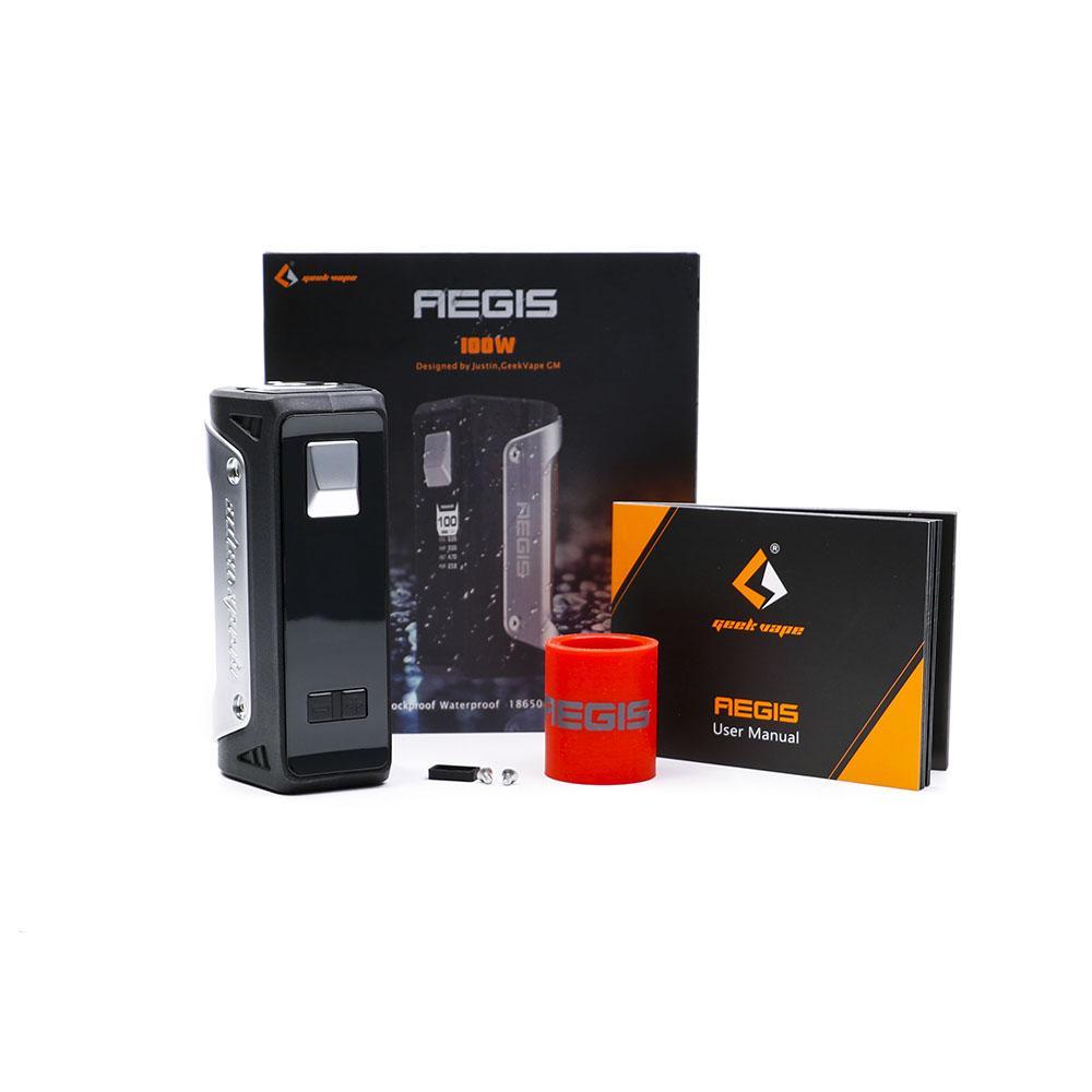 Original AEGIS 100W TC Box Mod waterproof shockproof and dustproof 100w  vape box mod fit 18650/26650/20700 baery