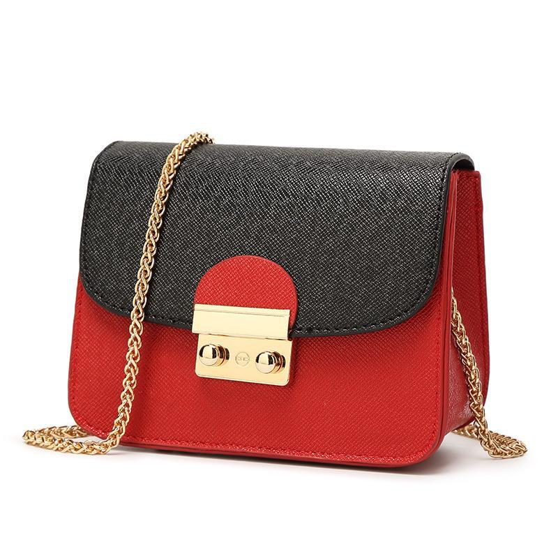 e982b9e3f12a6 Crossbody Bags For Women Mini Female Bag Small New Square High Quality  Fashion Chain Ladies Shoulder Bag Brand Messenger Quality Designer Black  Purses ...