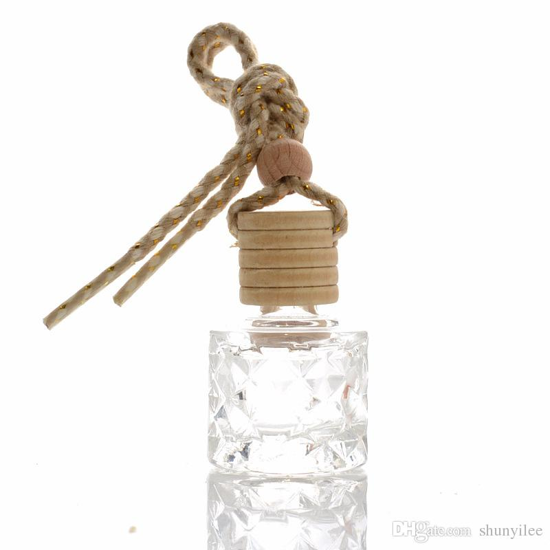 Empty Bottles Car Perfume Pendant New Style Top Grade Essential Oil Parfume Packaging Containers fast shipping F20172954