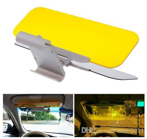 Car Sun Visor HD Car Anti Glare Dazzling Goggle Day Night Vision Driving  Mirror UV Fold Flip Down HD Clear View Visor Car Window Blinds Car Window  Cover For ... 98c571d6d58