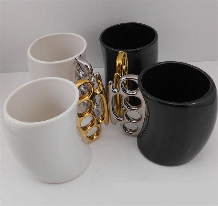 Grosshandel Keramik Finger Griff Kaffeetassen Teetassen