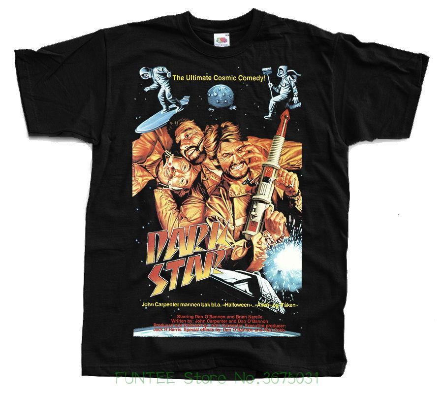 63795cf63 New 2018 Fashion Hot Dark Star , John Carpenter's Movie , 1974r. T-shirt  Ver. 3 Black All Sizes S - 5xl Online with $28.54/Piece on Yoyoteestore's  Store ...