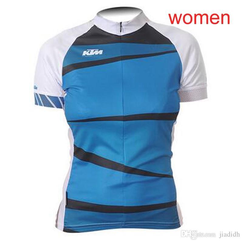 LIV KTM team Велоспорт с короткими рукавами Джерси Открытый с коротким рукавом Женская рубашка Быстросохнущая спортивная футболка Бег ropa ciclismo D303