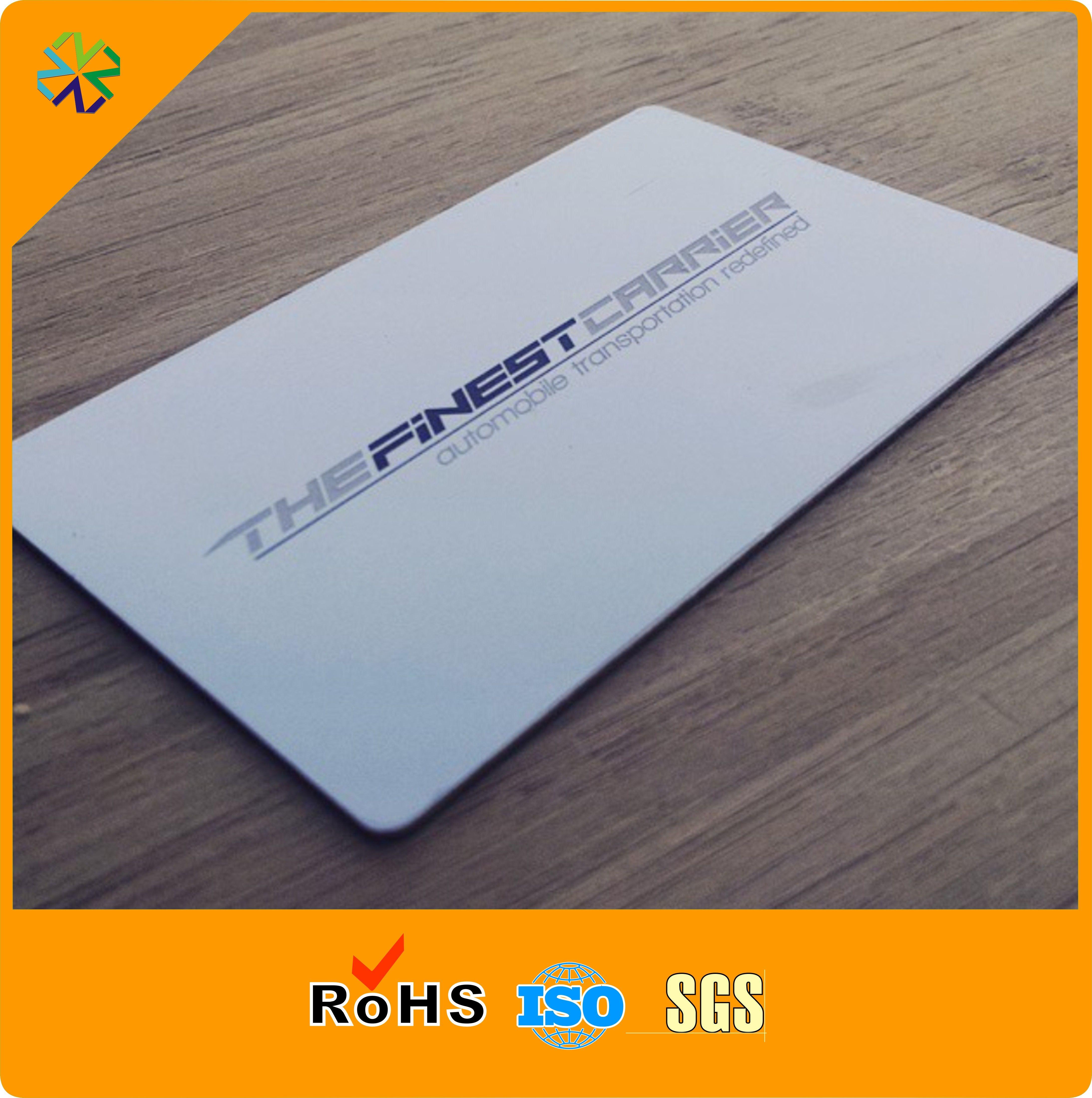 cheap custom logo silk printing vip stainless steel metal name cardblack metal card glossy stainless metal business cards stainless metal business cards - Metal Business Cards Cheap