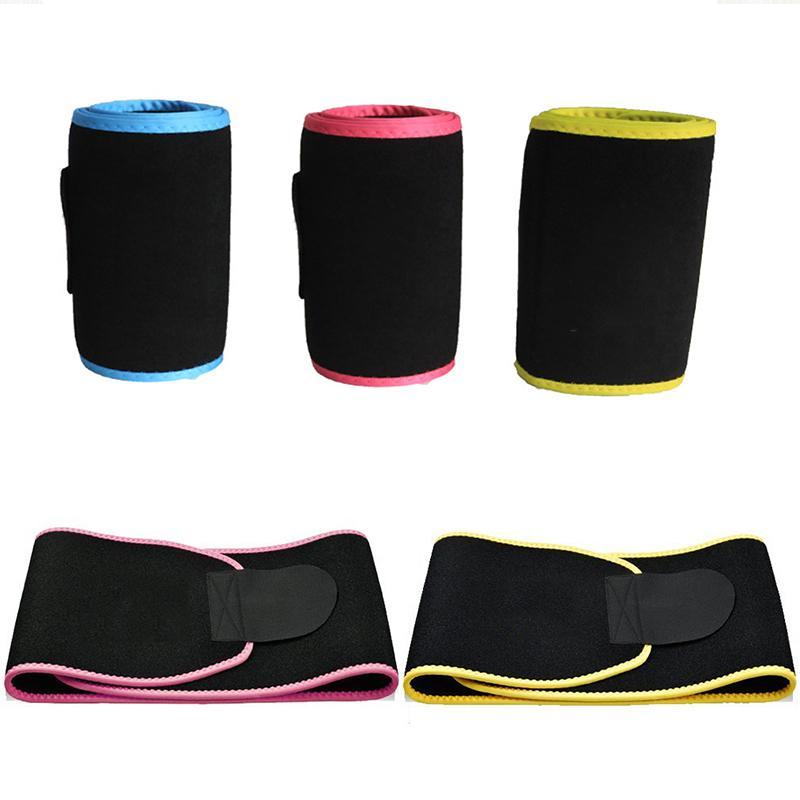 26b980b7a0 2019 Neoprene Waist Belt Sweat Waist Trainer Trimmer Belt Body Hot Shapers  Cincher Men Women Shapewear Workout Enhancer From Teahong