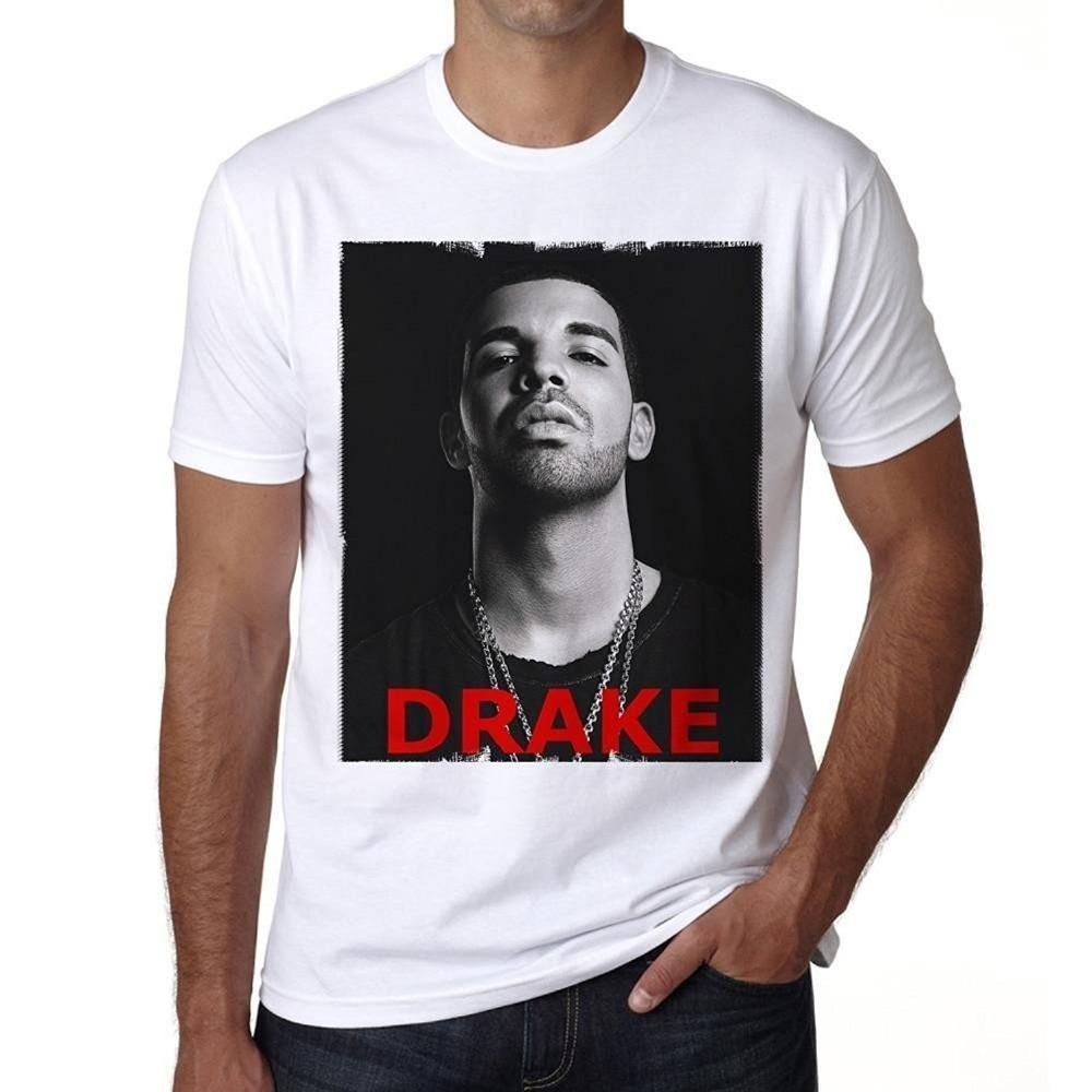 d94de41e62c Pop Cotton Man Tee Drake Men S T Shirt Celebrity Star Good Quality Brand  Cotton Shirt Summer Style Cool Shirts Cool Funny Shirts One Day Shirts From  ...