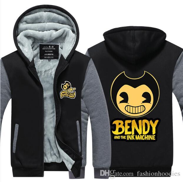 2019 Bendy And The Ink Machine Hoodie Game New Winter