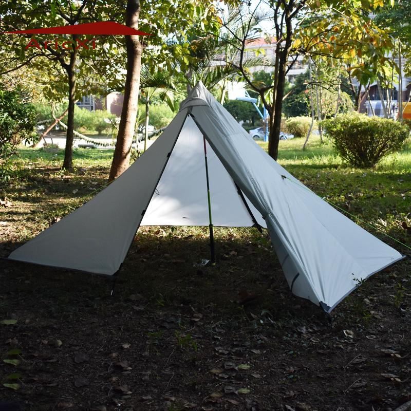 2017 Outdoor C&ing Rain Fly Tent Tarp Shelter C&ing Shelter Rainfly Sun Shelters And Sunshade For Beach Picnic Gelert Tents Festival Tents From Hupiju ... : tent tarp setup - afamca.org