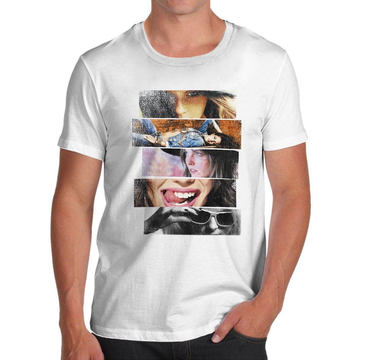 87aab84ec4a Twisted Envy Men S Collage Women Novelty T Shirt White T Shirts With  Designs Cloth T Shirt From Lijian85