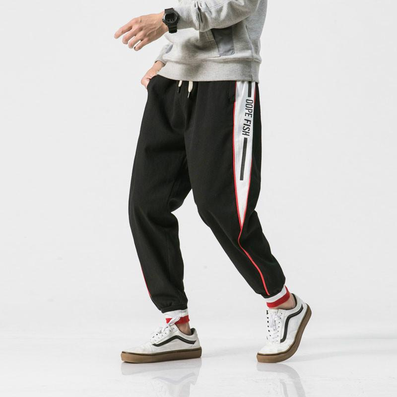 Compre Hombres Nueva Moda Casual Flojo Harem Pant Hombre Streetwear  Pantalones De Hip Hop Otoño Invierno Joggers Pantalones De Chándal High  Street Pant A ... 53dd6c5aa7d