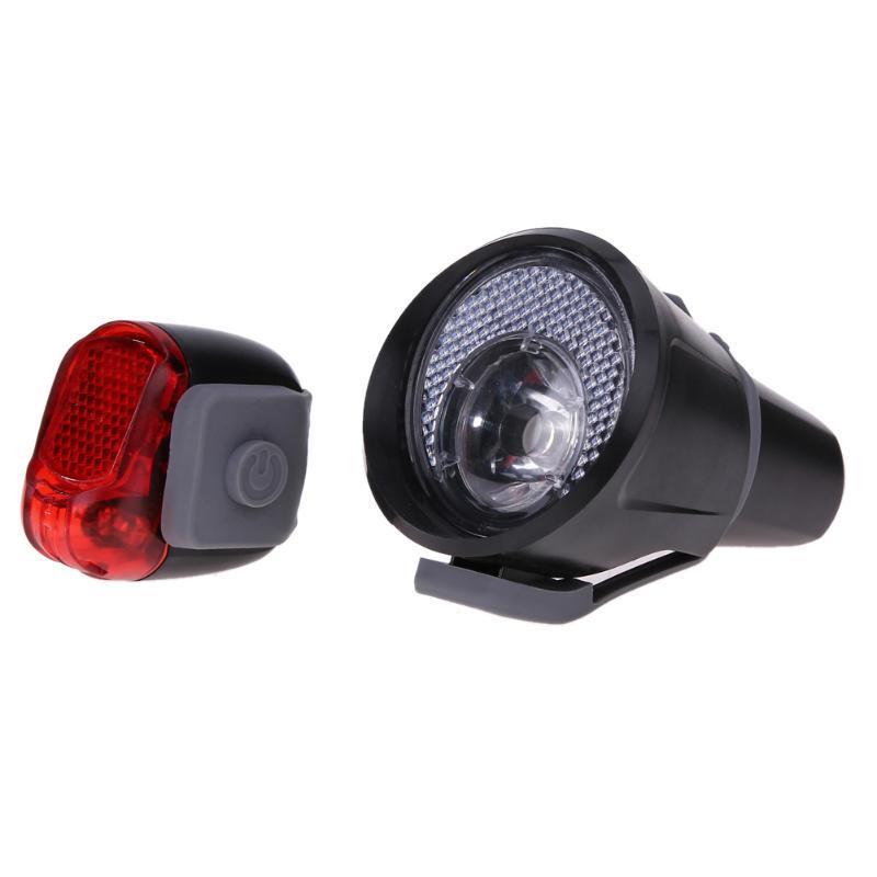18e25fb2932 2 X LED Bicycle Bike Cycling Waterproof Head Front Rear Wheel Safety ...