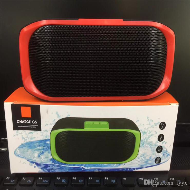 Hot High-end Quality Wireless Bluetooth Speaker G5 Mini Music Player Outdoor Speaker, The Best Sound Quality, Super Bass