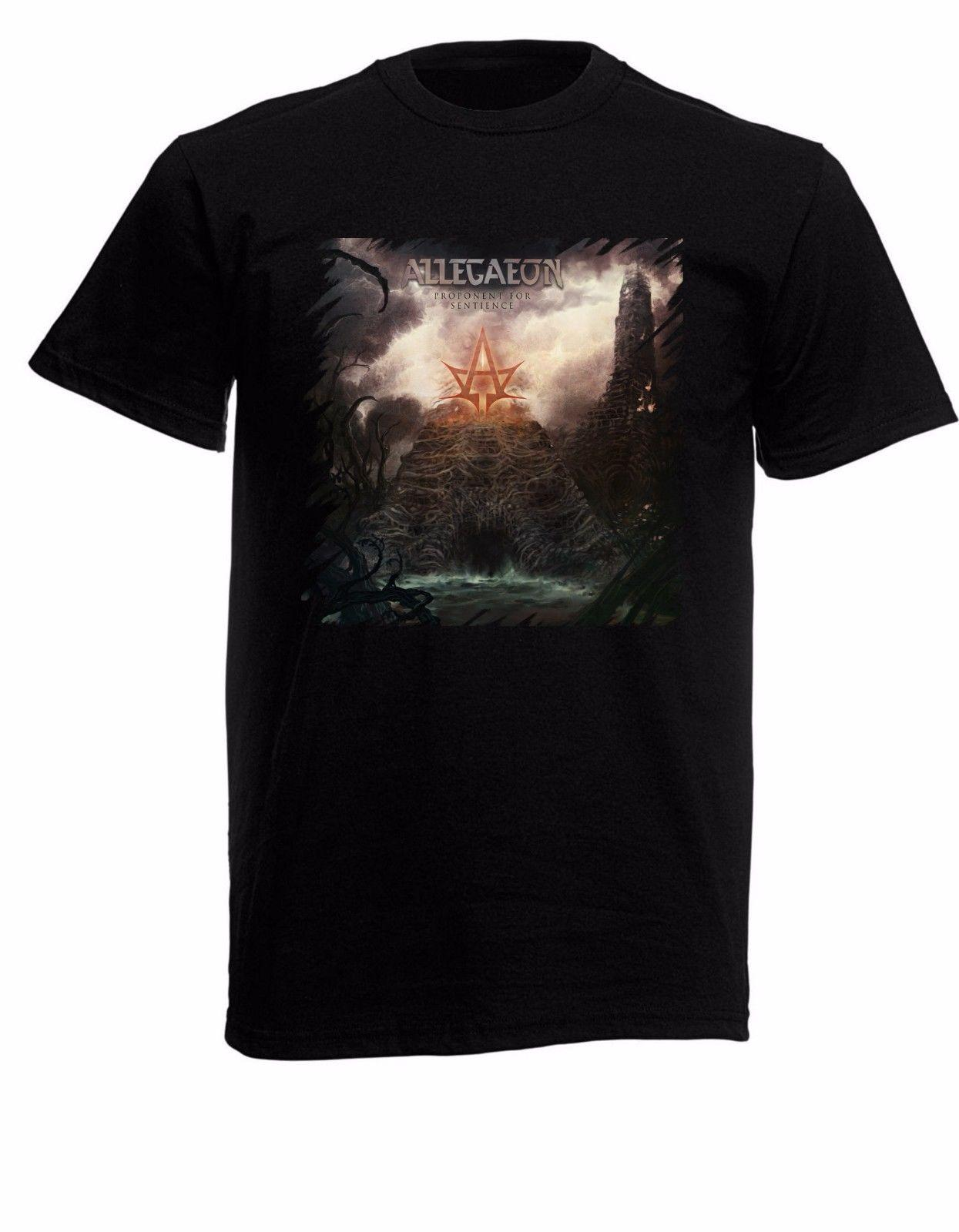 Allegaeon Proponent for Sentience Mens Black Rock T-shirt NEW Sizes S-XXXL