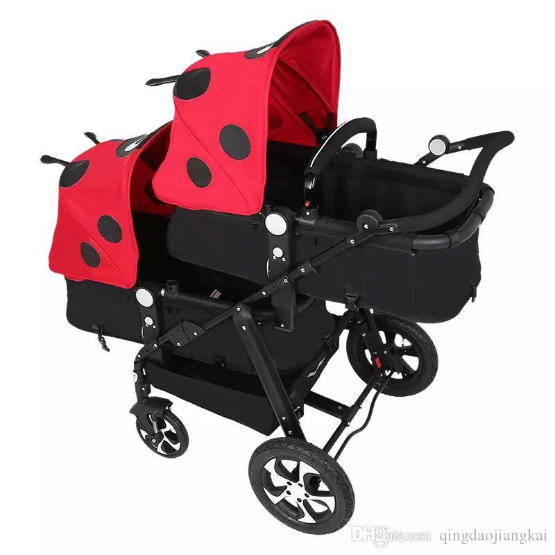 2019 the newest twin stroller baby carriage for twins prams for