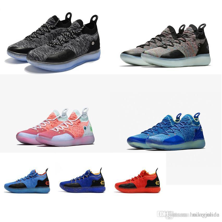 b373a1078a2f Cheap New Women Kd 11 Basketball Shoes Low Top Cut Boys Girls Children  Youth Kids Kevin Durant Xi Air Flights Sneakers Boots Tennis For Sale  Canada 2019 ...