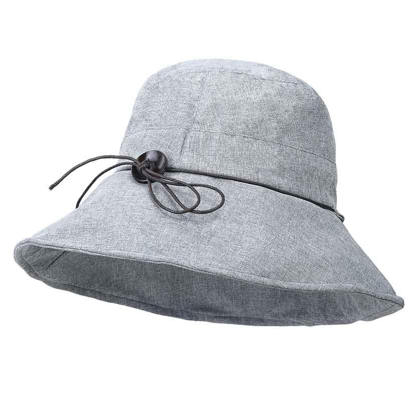 Folding Plain Bow Tie Fishing Bucket Hat Women Cloth Sun Block Hats UV  Protection For Summer Spring Autumn Kids Hats Wide Brim Hat From Playnice d086334a43c