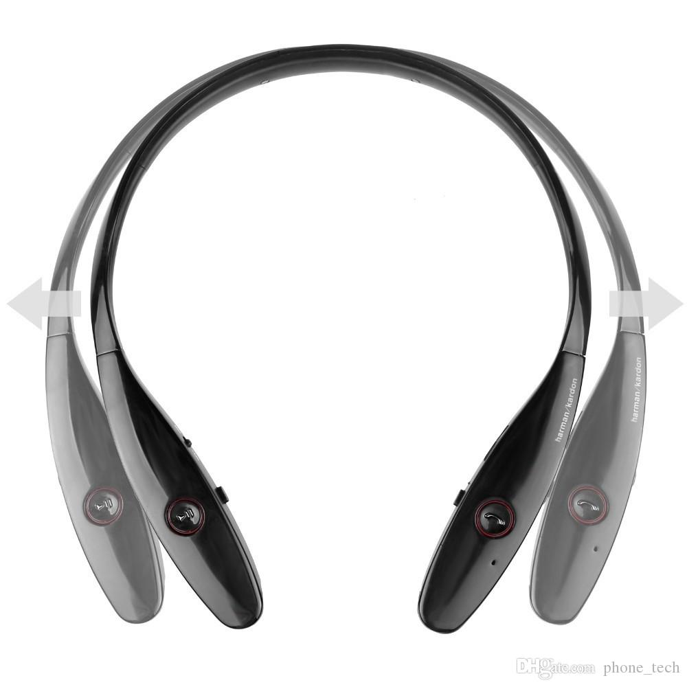 bbb6954cae4 HBS900 Bluetooth Headphones Wireless Sport Neckband Headset Headphones  Bluetooth Stereo Earphone For Iphone X 8 With Retail Package Bluetooth  Headset Cell ...