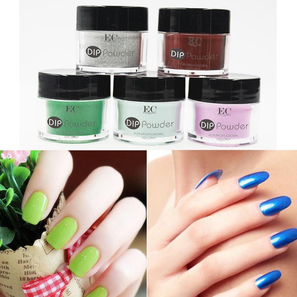 Organic Nails Acrylic Powder Gel Polish Dipping Colored Manicure ...