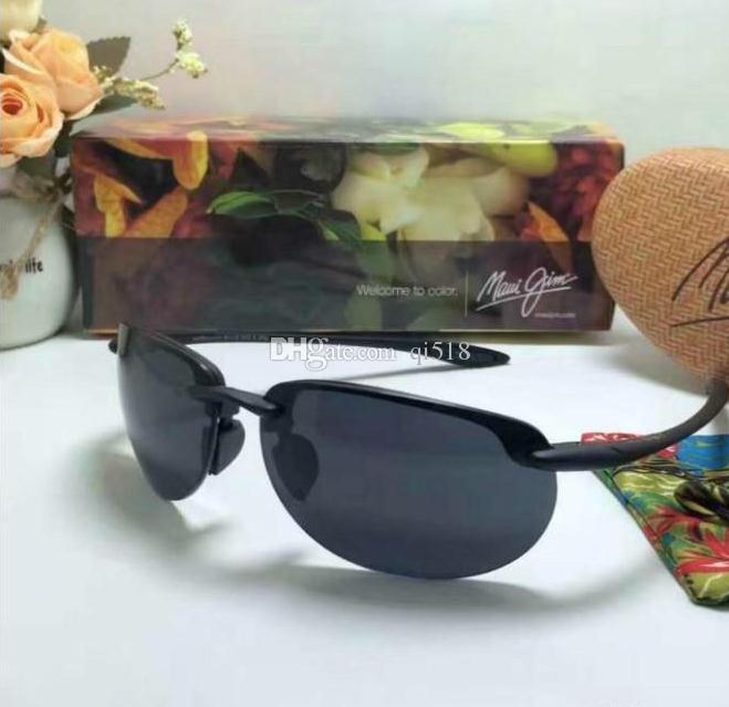 8dece98d55e Fashion Maui Jim Sunglasses 414 Polarized Lens Sun Glasses MJ414 ...