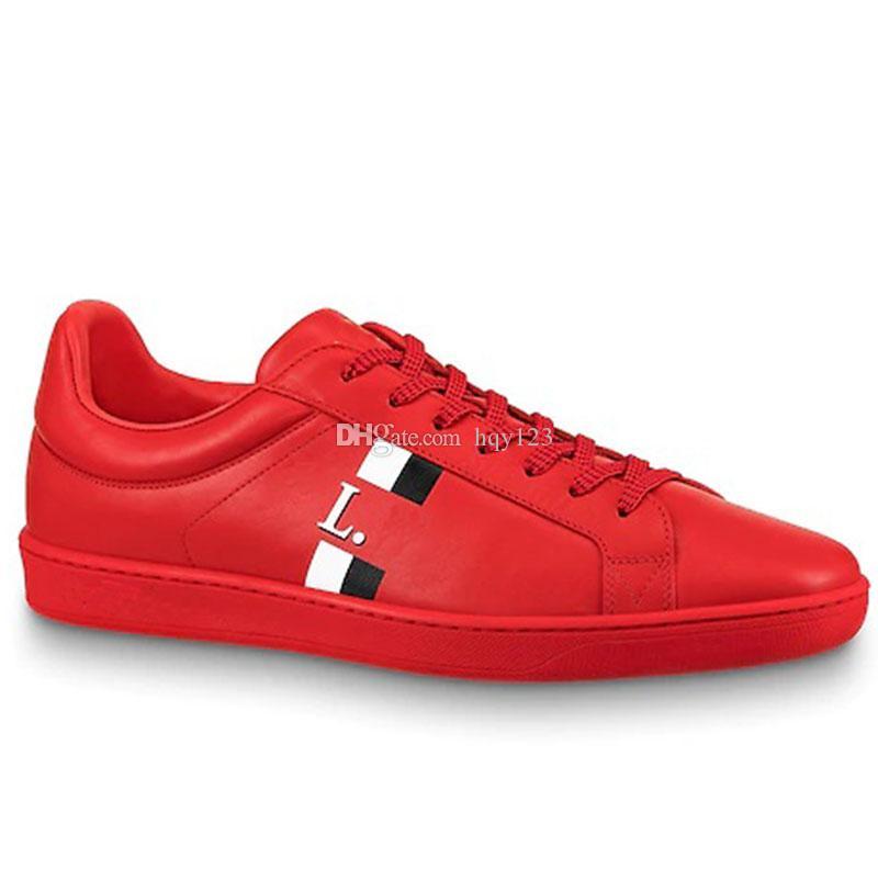 Leder Modell Herrenschuhe Luxusmarke Sneaker 38 44 Modedesigner Echtes St0916 Luxemburg Freizeitschuhe Größe 8mNnwv0