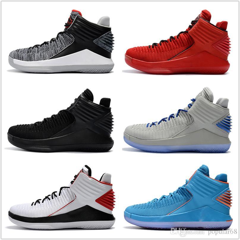 finest selection dba1b 033e5 Barato 32 XXXII Zapatos De Baloncesto 2018 Nuevos Hombres Botas De Alta  Calidad Negro Gris Zapatillas Baratas De Los Hombres 32 Zapatos Deportivos  Envío De ...