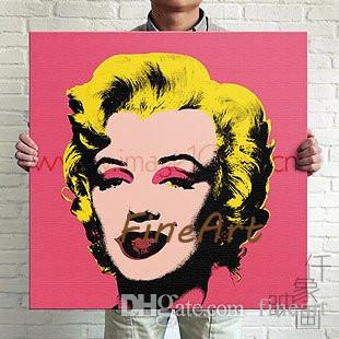 handmade painting pop art oil paintings for sale marilyn monroe painting andy warhol home decoration wall art decoration