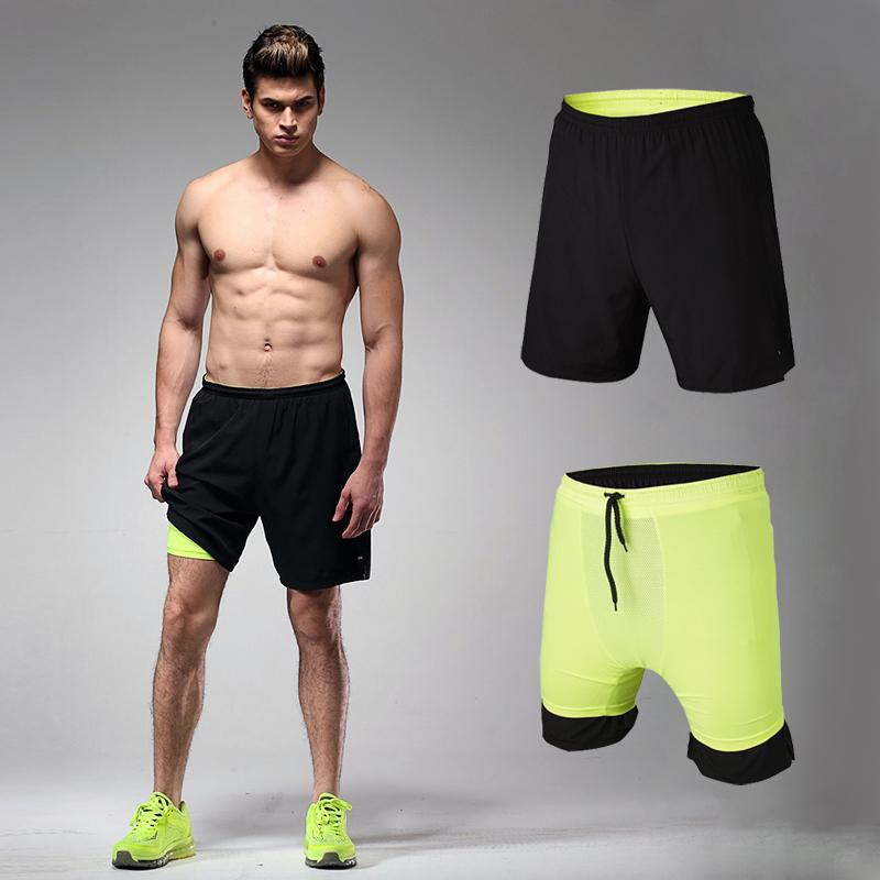 Mens Running Shorts Active Sport Gym Trunks Compression Lycra Boxers Inside  Yoga Wear Men Tennis Shorts Exercise Training Trunk UK 2019 From Quintin 7706af74f
