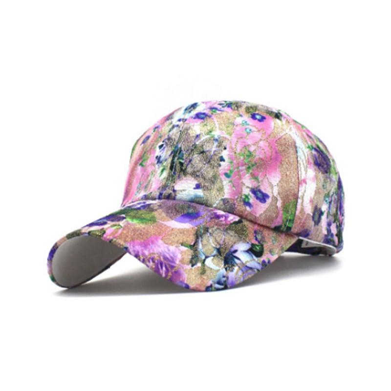 f09750183 XYKGR Brand lady printing baseball cap fashion casual wild hat outdoor  travel sun hat adjustable cap