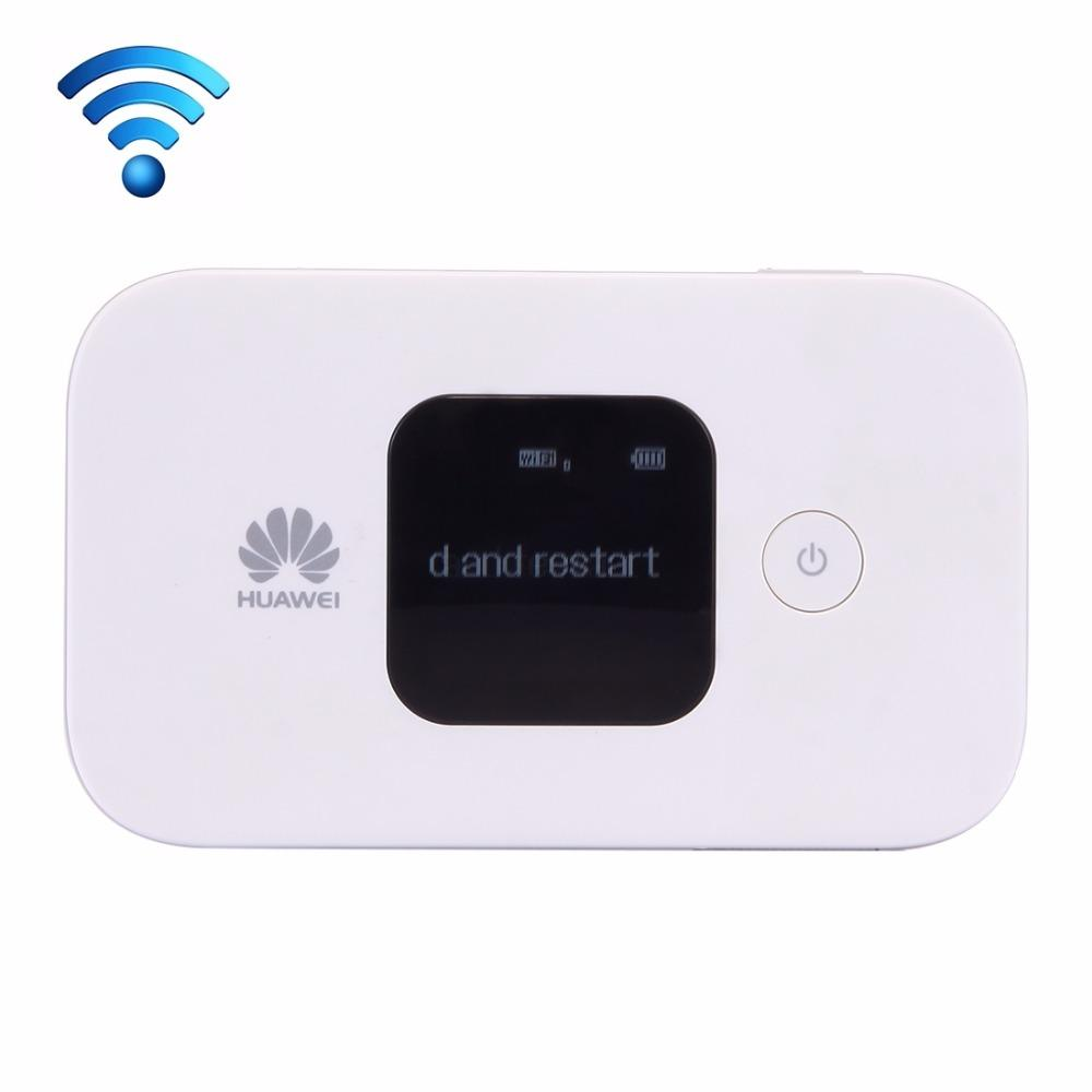 Original Huawei E5577Cs-321 Wireless Mobile Hotspot 4G WiFi Router with LCD  Screen Dual WiFi 2 4GHz / 5GHz Sign Random Delivery