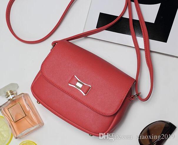 4b2c1311d9c9 Bow Pink Handbag Women Bag PU Leather Women'S Shoulder Crossbody Bags Ladies  Small Handbags Female Shoulder Bag Purse Bags A1441 Mens Messenger Bags  Mens ...