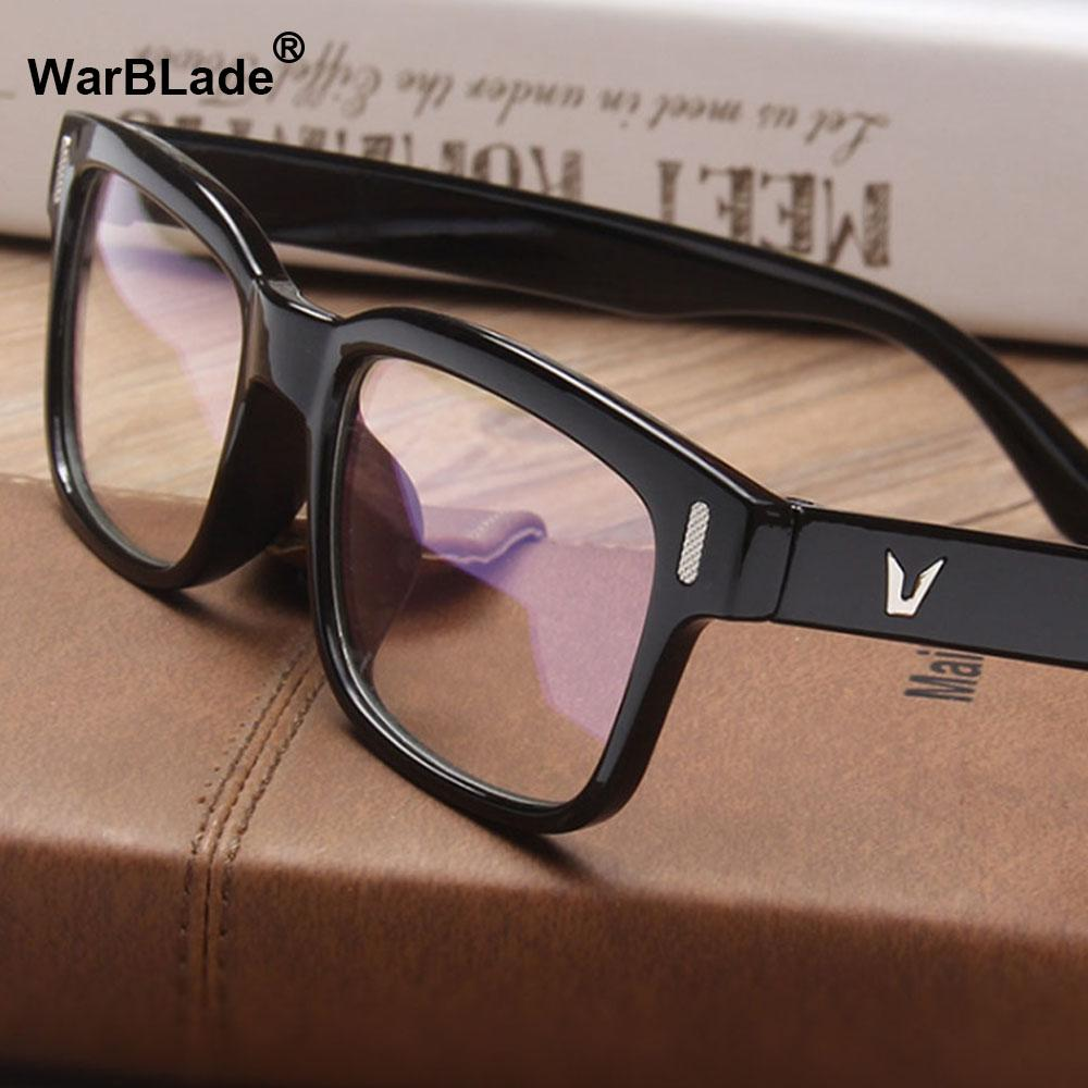 4e30e9ee90cf 2019 2018 Brand Design Vintage Eyeglasses Female Male Optical Clear Lens  Eye Glasses Women Men Eyewear Frames Spectacle WarBLade From Haydena