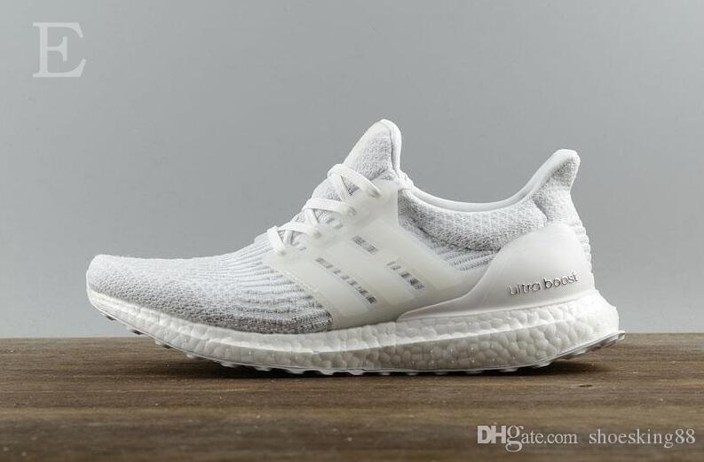 Hohe Qualität Ultraboost 3.0 4.0 Laufschuhe Männer Frauen Ultra Boost 3.0 III Primeknit Läuft Weiß Schwarz Sport Sneaker 36-47