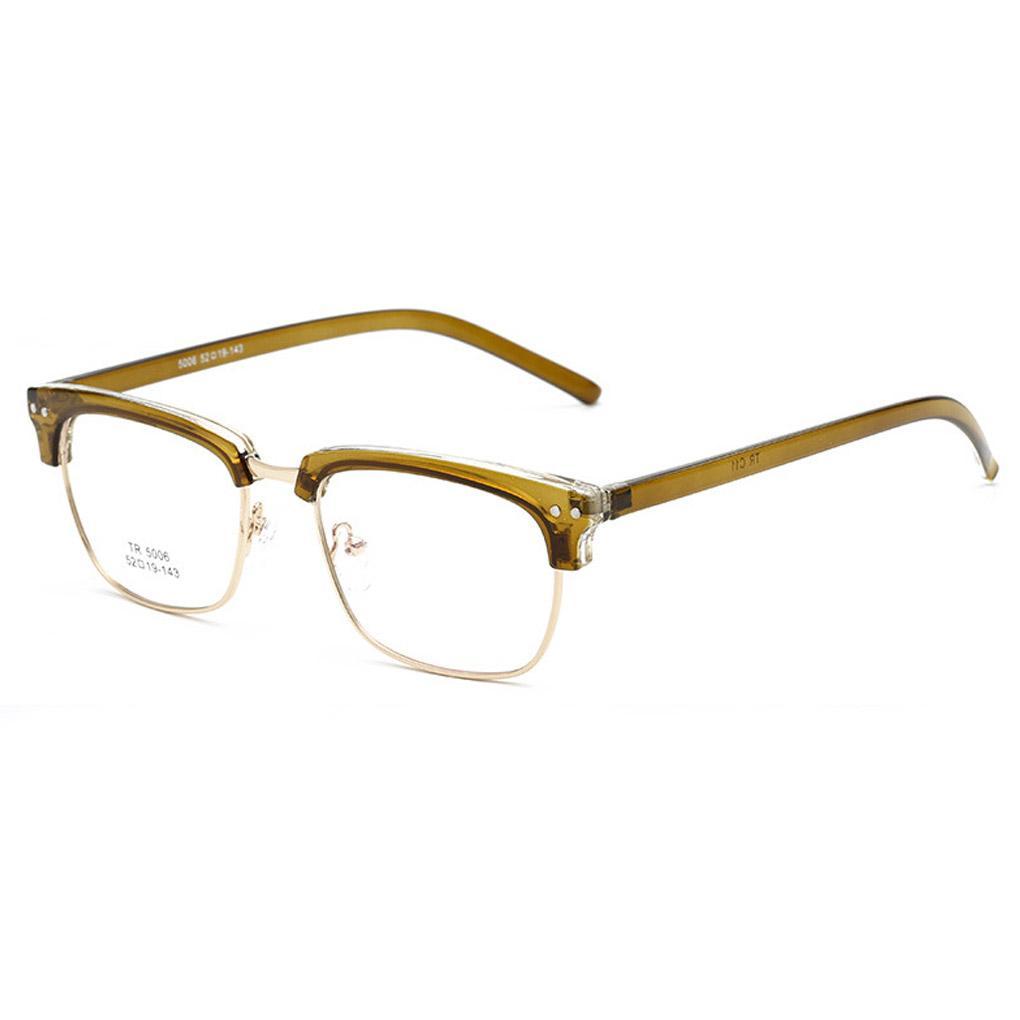 e597882bb6 2019 Low Sale TR 5006 Retro Eyebrows Flat Glasses Lens Eyeglasses For Super  Light Frames From Milknew
