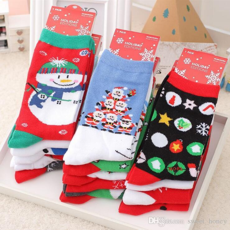 ed0de79f5 2019 New Design Christmas Santa Claus Socks Women Cotton Short Elk Winter  Socks Cartoon Deer Snow Man Cute Socks New Year Gift Funny Socks Socks  Women ...