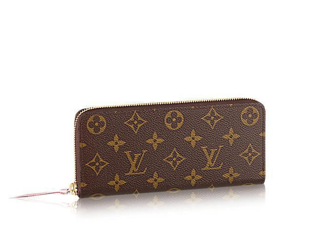 5d92455843e9 New Clémence Wallet Women Zip Wallet M61298 OXIDIZED LEATHER CLUTCHES  EVENING LONG CHAIN WALLETS COMPACT PURSE Wholesale Wallets Male Wallets  From Jwgs3333