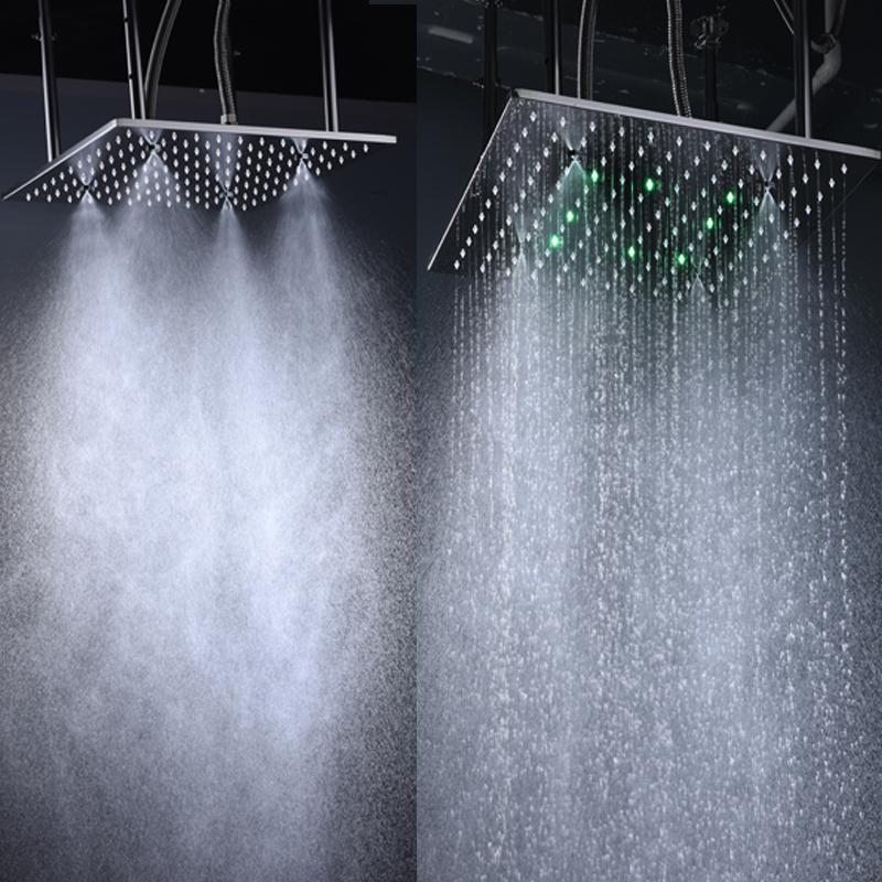 2019 High Quality 16 Inch Rain Shower Head Ceiling Square Showerhead