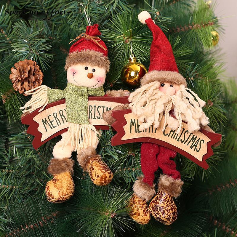 Acheter Décorations Du0027arbres De Noël Décoration De Jardin Suspendre  Ornements Guirlande De Noël Enfeite De Natal Décorations De Noël Pour Arbre  De $11.99 Du ...