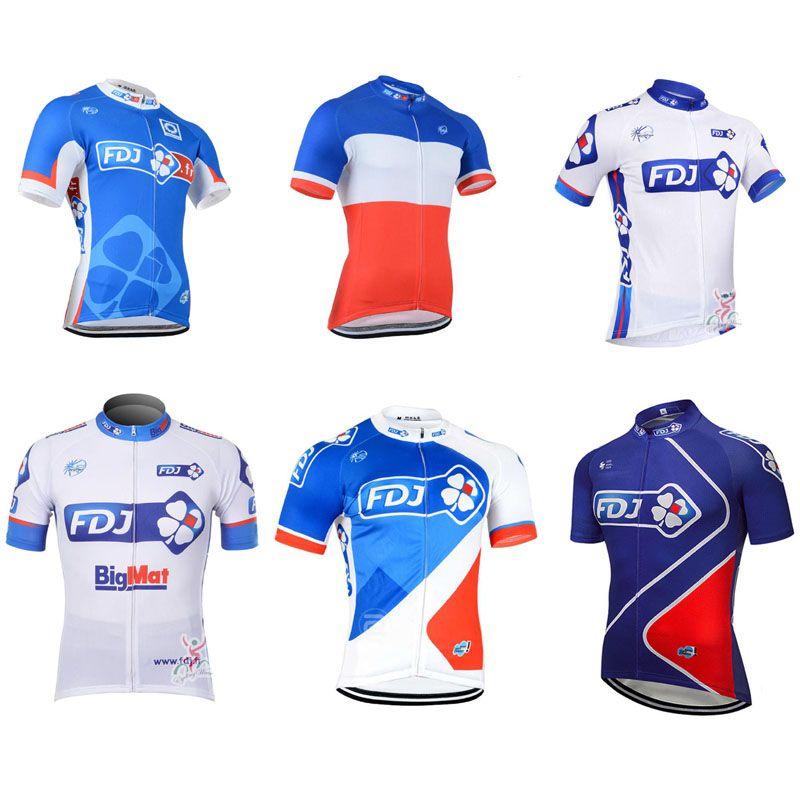 Maillot Ciclismo 2018 Pro Team FDJ Mens Cycling Jerseys Summer Breathable  Road Bike Clothing Bicycle Short Sleeve Shirt Mtb Sportswear C2803 Mountain  Bikes ... b394c1230