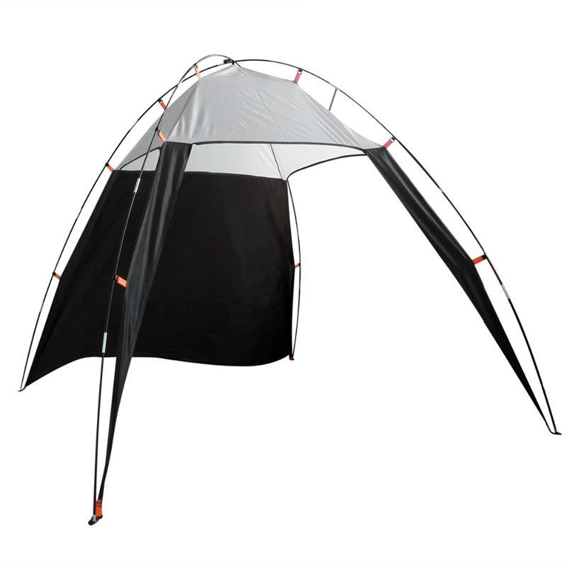 Portable Outdoor Beach Canopy Sun Shade Triangle Tent Shelter For Camping  Fishing Black And Grey Camping Tent Sale Small Tents From Qingteawater, ...