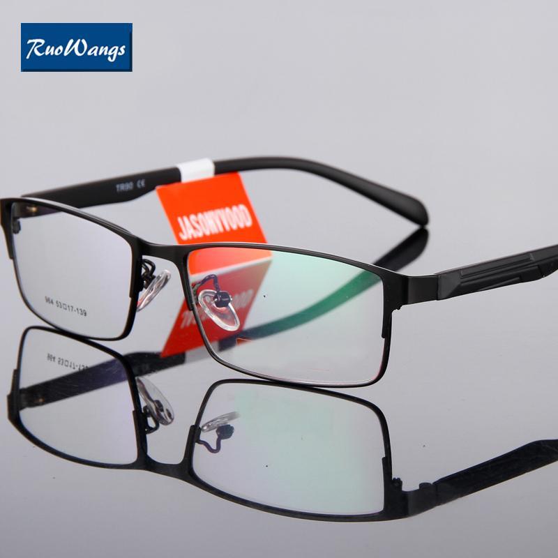 Compre Ruowangs Ojo Cristal Marco Gafas De Sol Hombres Gafas Gafas ...