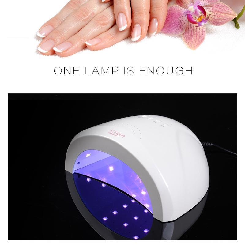 2019 SUN ONE 48W/24W UVLED White Light Nail Dryer LED Nail Lamp Gel Polish Dryer Fingernail Toenail Gel Curing Art From Caodou, $42.3 | DHgate.Com