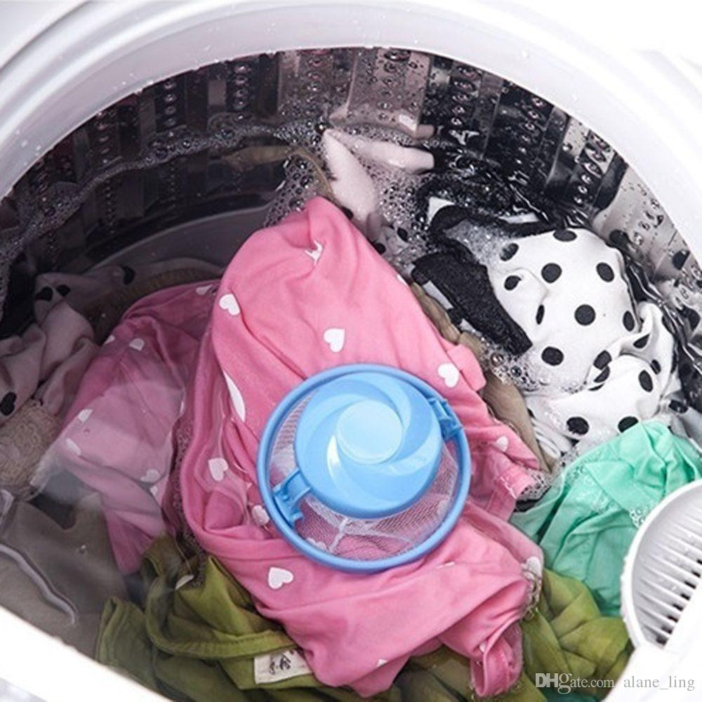 New Random Color Clothes Decontamination Filter Bags Washing Machine Hair Removal Device Laundry Ball Home Decoration