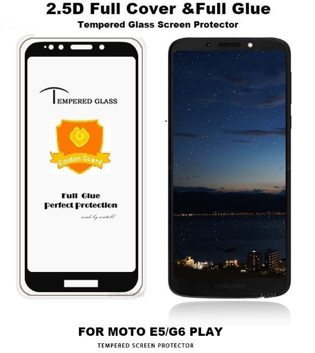 95d29a2b71 ... For Motorola Moto One Power Moto P30 Note E5 Plus G6 Play 9H Anti  Scratch 2.5D Glass Temper Glass Full Glue No Break Edge Temper Glass Screen  Protector ...