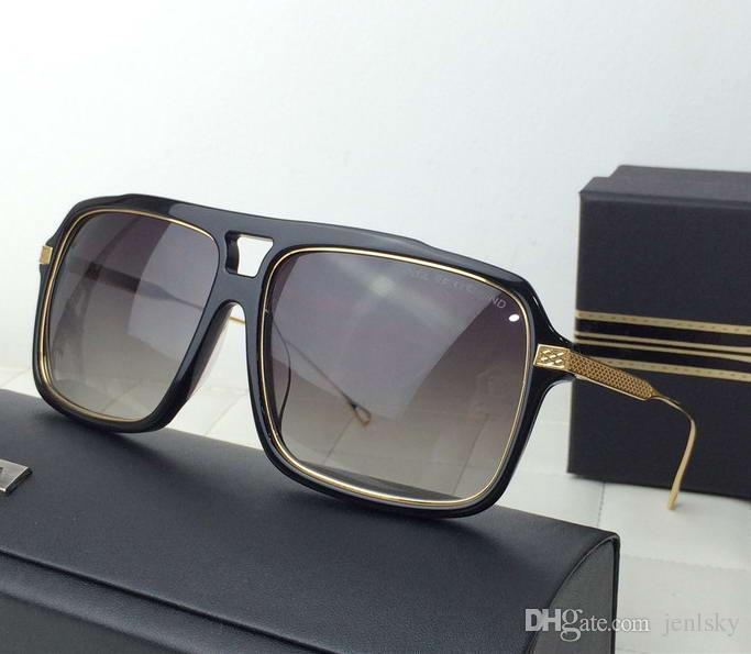 c0898bcf132 Men Westbound Sunglasses Gold Black Grey Gradient Lenses Sonnenbrille  Occhiali Da Sole 2018 Luxury Designer Sunglasses Glasses With Box Cheap  Eyeglasses ...