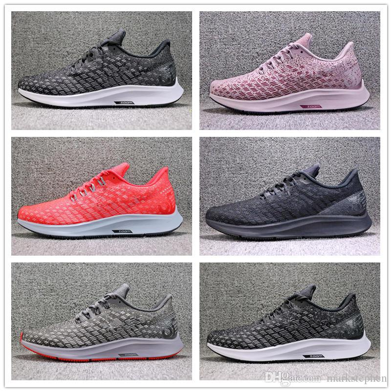 5782cb44197b1 2018 New Zoom Pegasus 35 Mens Running Shoes Women Air Sport Trainers  Sneakers Outdoor Walking Jogging Shoe Top Quality With Original Box Best  Shoes For ...