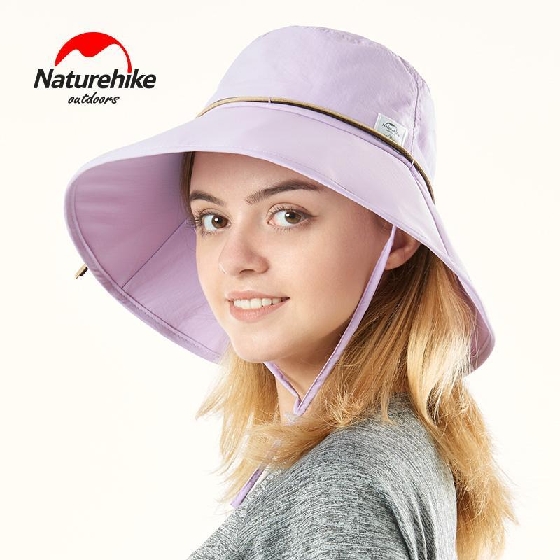 8529111928f6f 2019 Naturehike New Women Sunshade Beach Hats Summer Nylon Waterproof Quick  Dry Female Outdoor Fishing Hiking Big Caps Only 115g From Curtainy