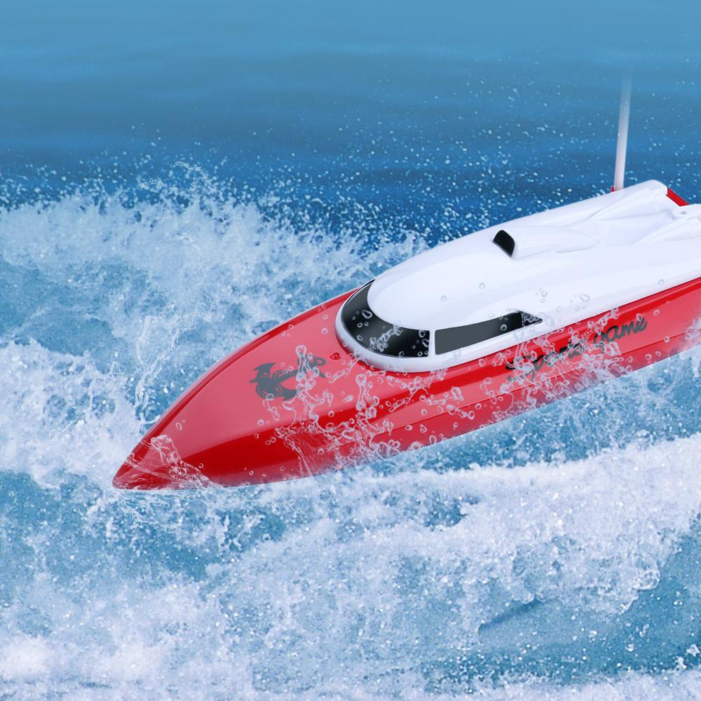 4 Channel 20kmh Racing Remote Control Rc Boat Yacht Model Ship